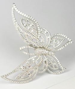 mariposa circonitas plata